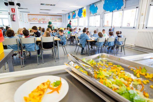 Servei de menjador. Col·legi Sant Vicenç