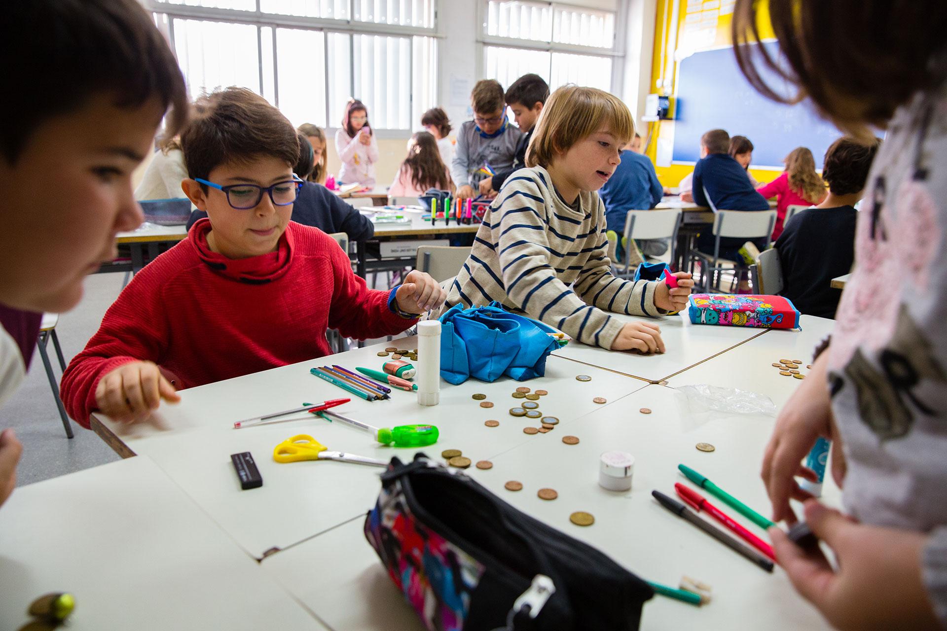Jump Math. Projecte d'aprenentatge de matemàtiques. Col·legi Sant Vicenç